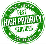 High Priority Pest Services Logo